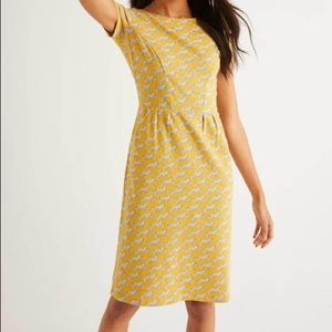 Boden Phoebe Spotted Cheetah Dress